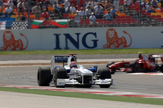 2009 Turkish Grand Prix - Robert Kubica (POL) in the BMW Sauber F1