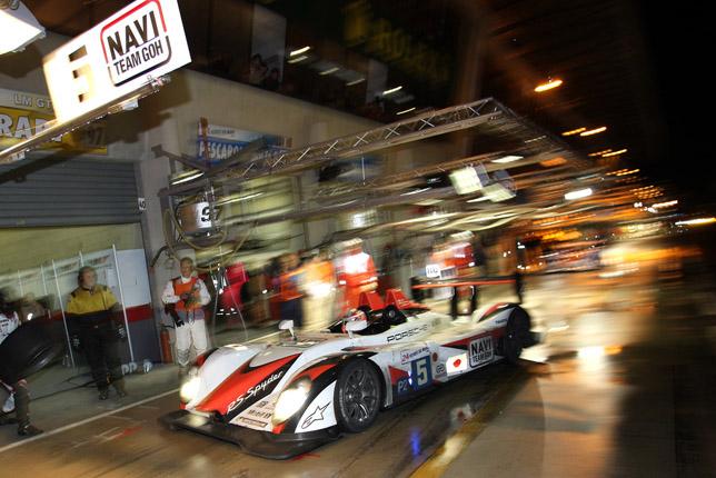 Porsche RS Spyder - Navi Team Goh