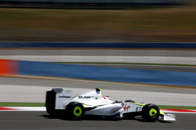 Rubens Barrichello at GP of Turkey DNF