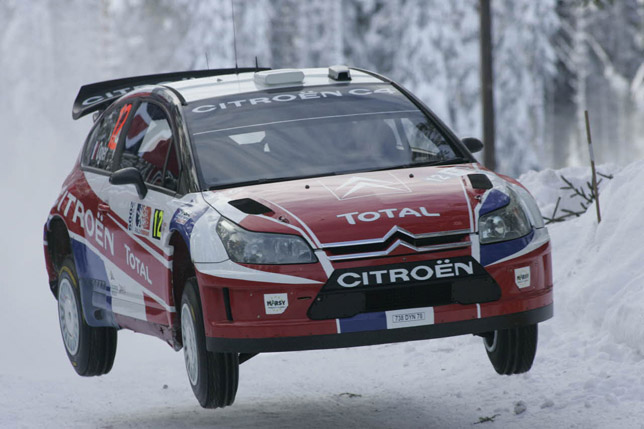 Citren C4 WRC at Rally Norway 2009
