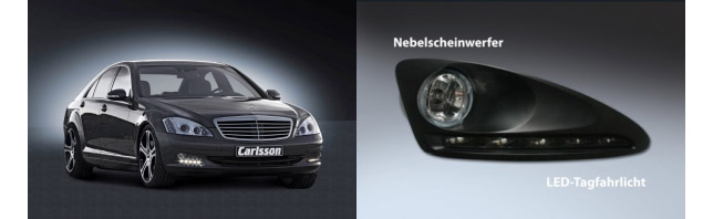 Carlsson LED Daylight for S-class
