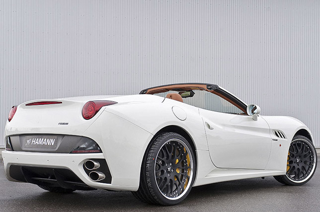 "Ferrari California with ""Edition Race"" alloy wheels"