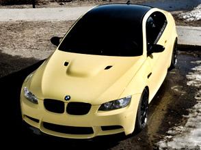 ind dakar yellow bmw m3 e92