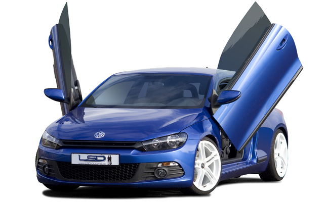 LSD gull-wing door plates for VW Scirocco