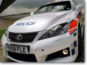 Tuned Lexus IS-F a.k.a Bye Bye Road Crimes for the Humberside Police