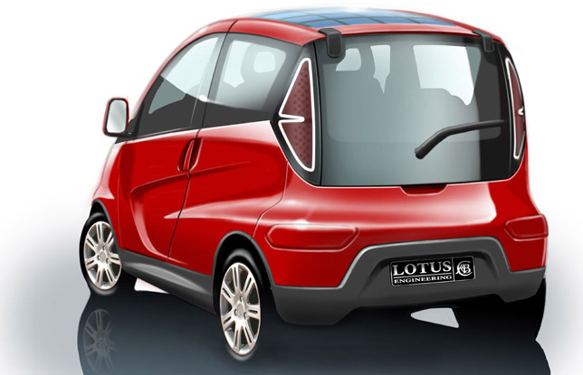 Lotus City Car Design Concept