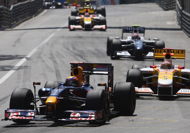 Mark Webber Red Bull Racing