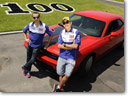 Yamaha Riders Switch to HEMI-Powered Dodge Challenger SRT8
