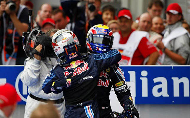 Red Bull Racing won the German GP