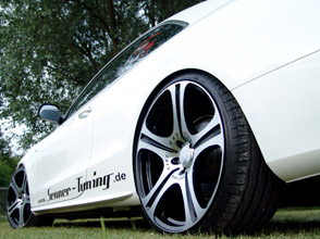 senner audi a5 with 1/5 evo ds carlsson alloy wheels