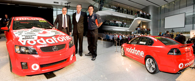 TeamVodafone to race Commodores