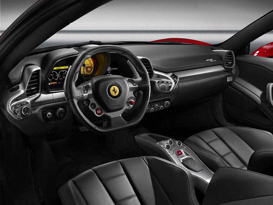 ferrari 458 italia interior 2009