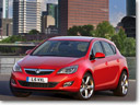 Vauxhall Astra with whole new range of greener engines