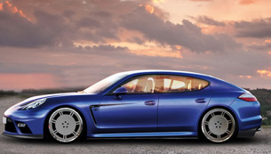 9ff panamera turbo - the new porsche limosine in turbo mode
