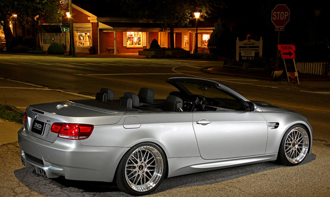 IND Silverstone II BMW E93 convertible