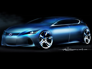 Lexus Premium Compact Concept scheduled for Frankfurt