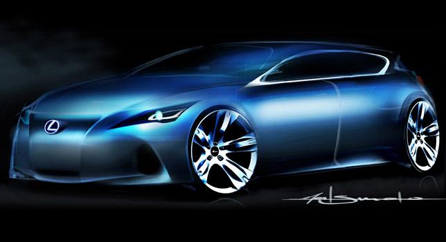 Lexus premium compact concept