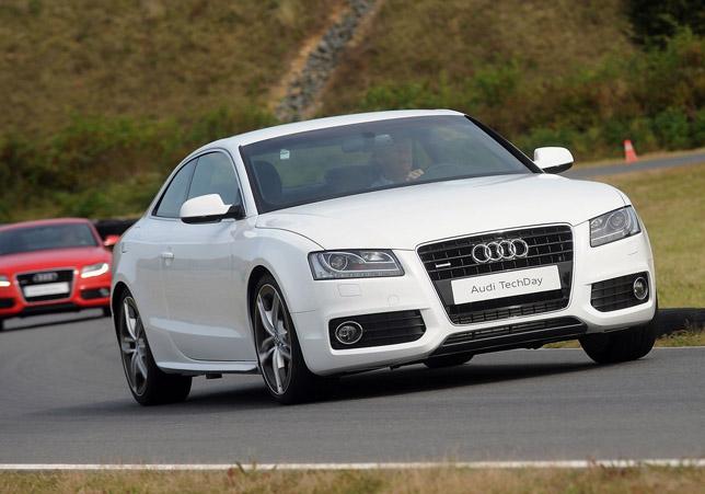Audi A5 Coupe Aluminium prototype