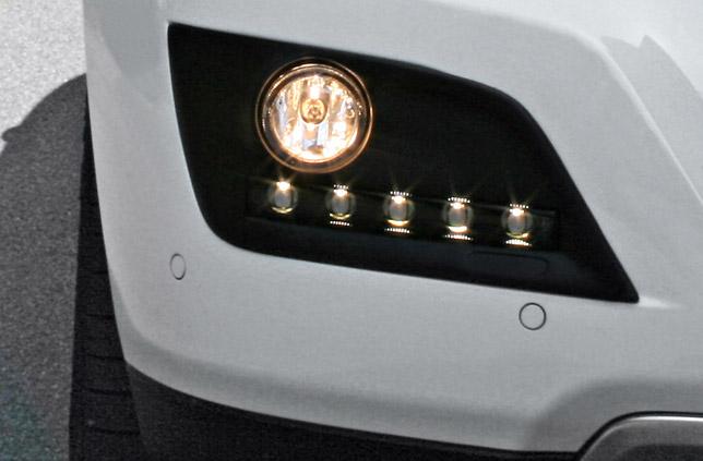 Carlsson daytime running lights for ML-Class W164 - detail