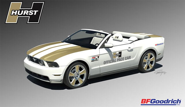Hurst 2010 Mustang Pace Car render