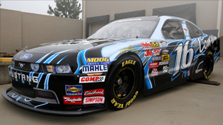 2010 Mustang NASCAR Nationwide Series unveiled