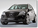 Lorinser aero kit the face-lifted Mercedes M-Class
