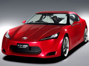 Toyota to unveil its new FT-86 sports car concept at Tokyo Motor Show