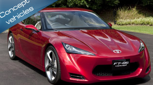 Toyota FT-86 Concept unveiled at 41st Tokyo Motor Show