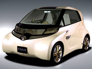 toyota ft-ev ii concept – a smaller than the iq ev