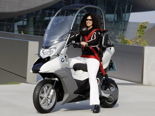 bmw c1-e concept – the safety is a top priority