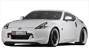 APP Europe Nissan 370Z - White, Bold and Sporty