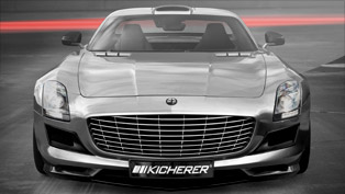 Kicherer refines the 2010 Mercedes-Benz SLS AMG