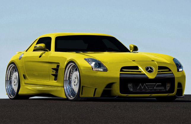 MEC Design Mercedes-Benz SLS AMG study-3