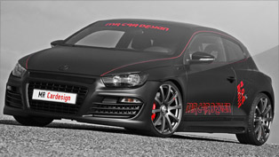 MR Car Design Black Rocco - an exclusive VW Scirocco