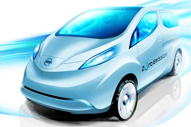 Nissan e-LCV concept sketch