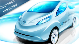 Nissan shows new sketch of a commercial electric concept