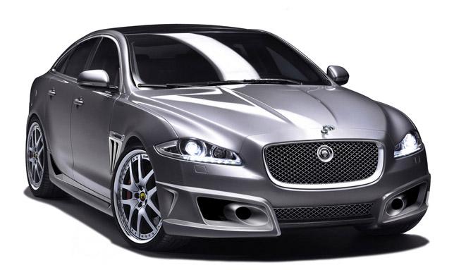 The new Arden Jaguar XJ AJ22