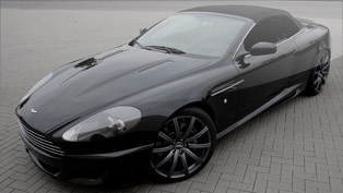 wheelsandmore aston martin db9 convertible - more style and power