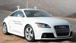 Autonomous Audi TTS - A car from the future
