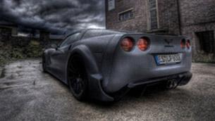 loma presents corvette c6 blackforceone - an undercover jet-fighter