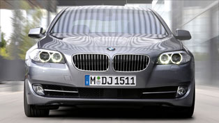 BMW unveiled the new 5 series F10