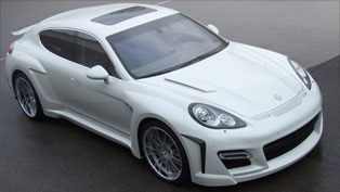FAB Panamera combines coupe-like vision and enormous output