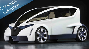 Honda P-NUT Concept outlines the future urban mobility