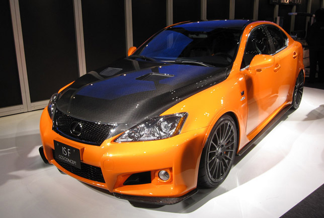 2010 Lexus IS-F CCS concept