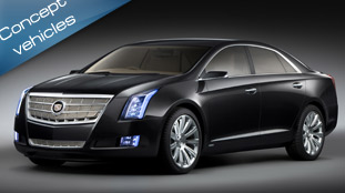 cadillac xts platinum concept - the future of the high-end luxury