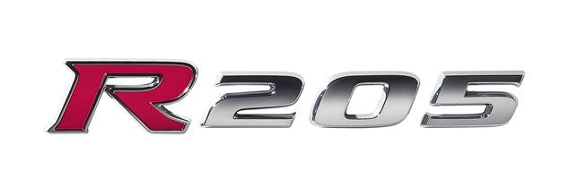 Subaru Impreza R205 logo
