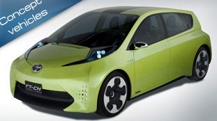 toyota debuts ft-ch compact hybrid concept
