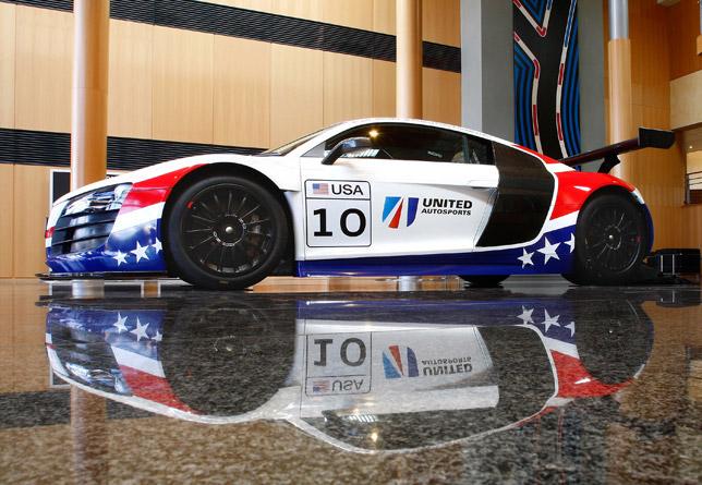 United Autosports Audi R8 LMS GT3