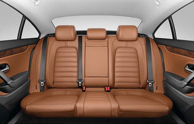 Volkswagen Passat CC - new optional rear bench system