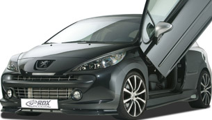 RDX RACEDESIGN refines the Peugeot 207